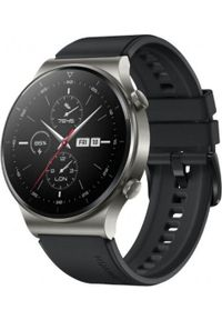 HUAWEI - Smartwatch Huawei Watch GT2 Pro Czarny (VIDAR-B19S). Rodzaj zegarka: smartwatch. Kolor: czarny