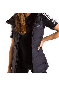 Adidas - ADIDAS HELIONIC DOWN VEST > BQ1943. Materiał: puch, poliester. Długość rękawa: bez rękawów