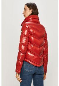 Czerwona kurtka Colmar casualowa, na co dzień