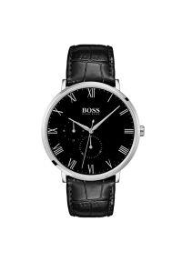 Czarny zegarek BOSS