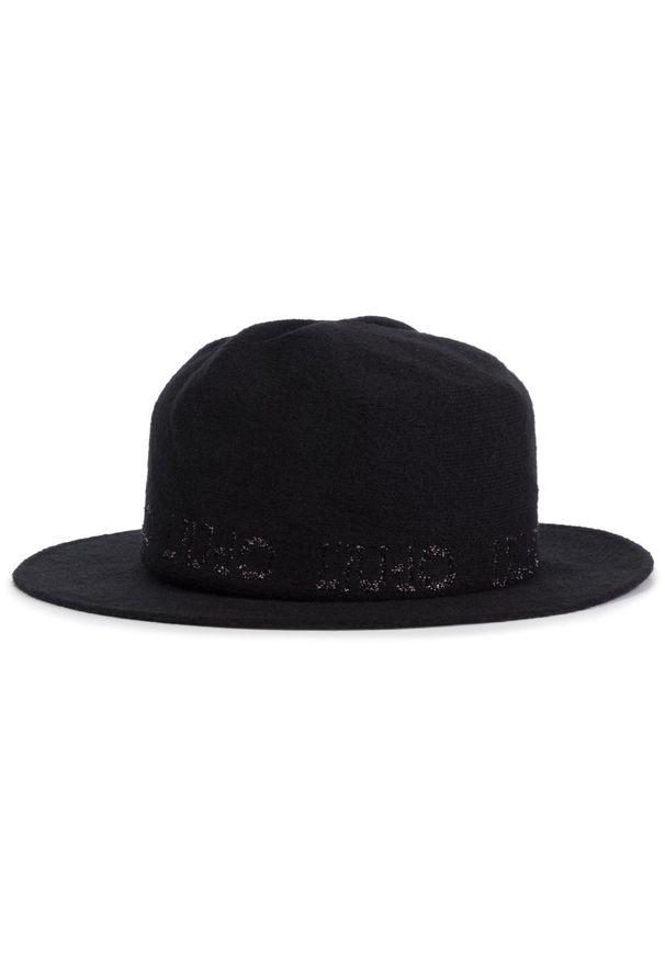 Czarny kapelusz Liu Jo