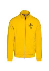 Żółta bluza Aeronautica Militare z aplikacjami