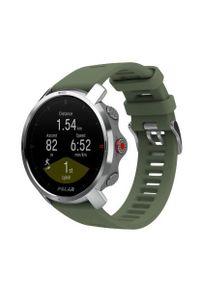 Zielony zegarek POLAR sportowy, cyfrowy