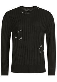 Czarny sweter klasyczny Just Cavalli