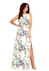 Długa sukienka Numoco w kwiaty