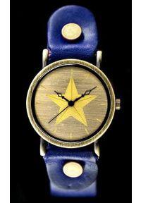 Niebieski zegarek NoName retro