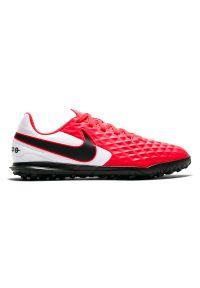 Buty piłkarskie turfy dla dzieci Nike Tiempo Legend 8 Club TF AT5883. Materiał: syntetyk, skóra. Szerokość cholewki: normalna. Sport: piłka nożna