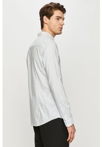 Niebieska koszula Tom Tailor button down, casualowa, długa