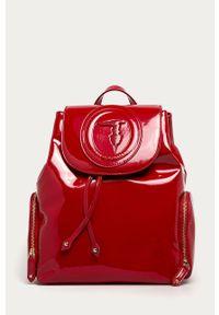 Czerwony plecak Trussardi Jeans klasyczny