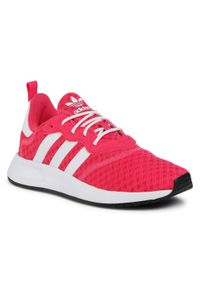 Różowe półbuty Adidas z cholewką, eleganckie