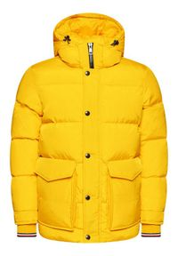 Żółta kurtka puchowa TOMMY HILFIGER na zimę #7