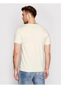 Jack & Jones - Jack&Jones T-Shirt Joshua 12185595 Żółty Regular Fit. Kolor: żółty