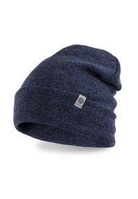 Niebieska czapka PaMaMi na jesień