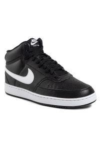 Czarne półbuty Nike z cholewką, eleganckie