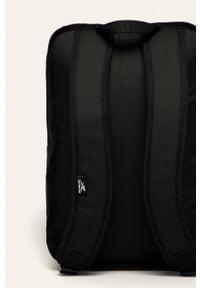 Reebok - Plecak. Kolor: czarny. Materiał: materiał, poliester. Wzór: nadruk, gładki, paski #4