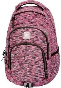 MYBAQ Plecak szkolny Atik Blur różowy. Kolor: różowy