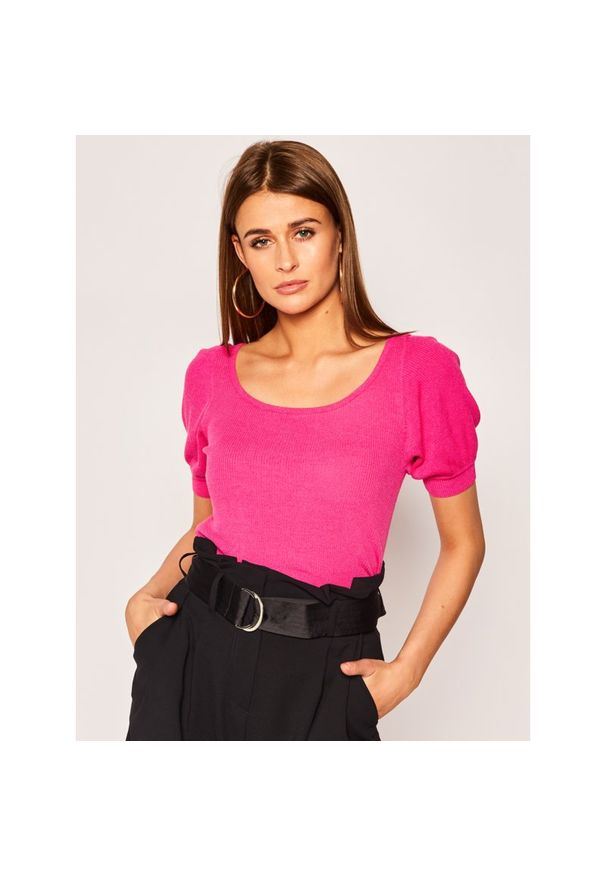 Różowy sweter Luisa Spagnoli