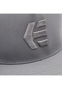 Etnies - Czapka z daszkiem ETNIES - Icon Snapback 4140001356 Charcoal 010. Kolor: szary. Materiał: materiał, bawełna, poliester