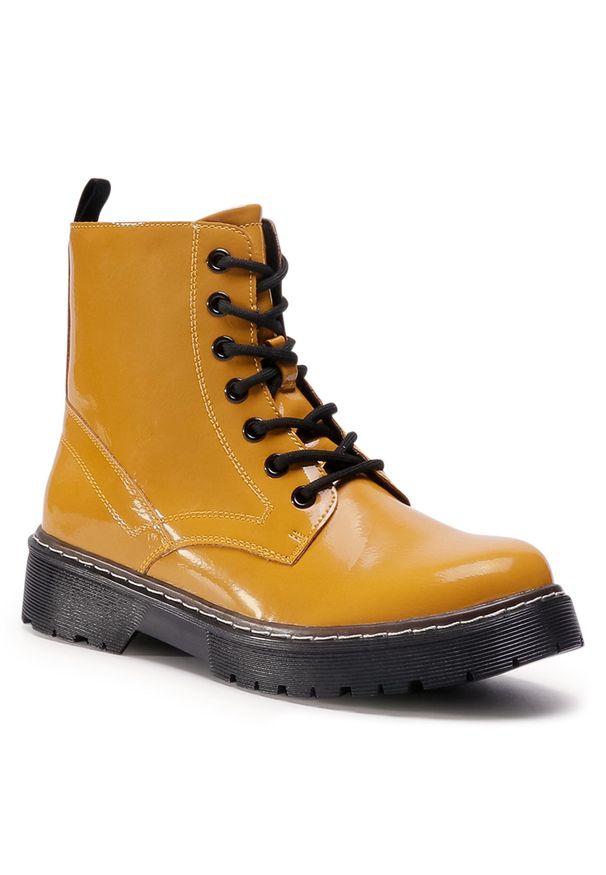 Żółte buty trekkingowe Jenny Fairy