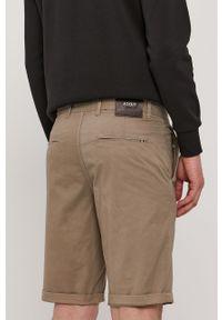 JOOP! - Joop! - Szorty. Okazja: na co dzień. Kolor: beżowy. Materiał: tkanina, elastan, bawełna. Wzór: gładki. Styl: casual #3