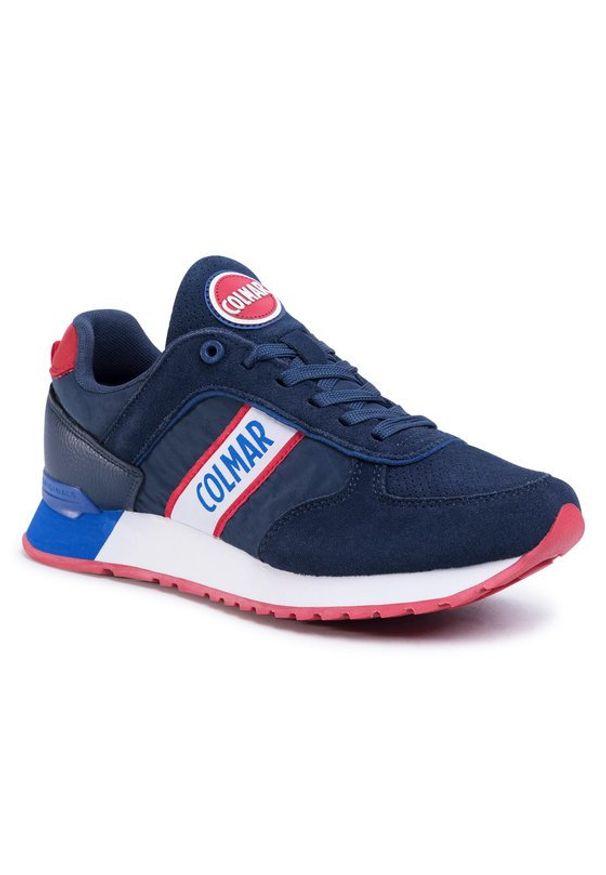 Colmar Sneakersy Travis Runner 032 Granatowy. Kolor: niebieski