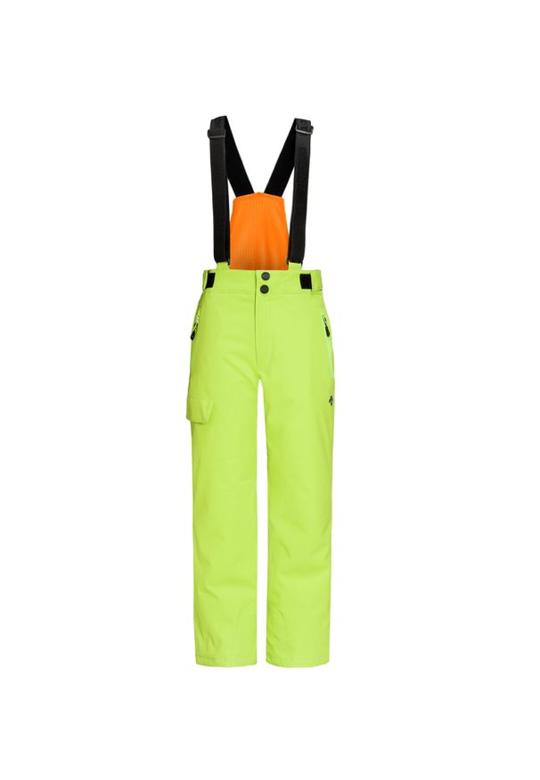 Zielone spodnie narciarskie Descente
