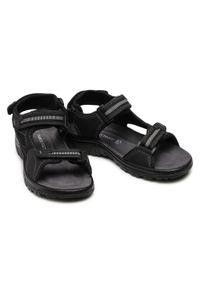 Czarne sandały Marco Tozzi