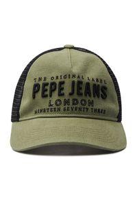 Zielona czapka z daszkiem Pepe Jeans