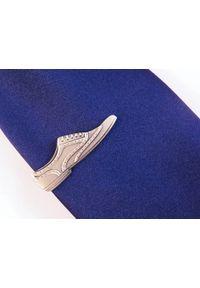Adam Collection - Spinka do krawata - srebrny but ZS22. Kolor: srebrny