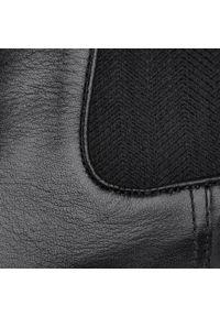 Czarne buty wizytowe Digel eleganckie