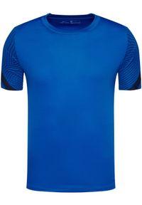 Niebieska koszulka sportowa Nike