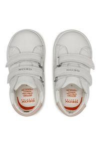Geox Sneakersy B Biglia G. C B044CC 08554 C0406 Biały. Kolor: biały