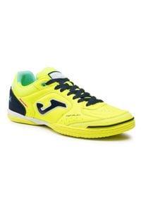 Joma - Buty JOMA - Top Flex 2109 TOPS2109IN Leon Fluor. Kolor: żółty. Materiał: materiał. Szerokość cholewki: normalna. Wzór: gładki