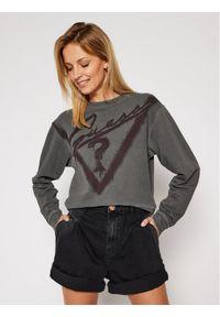 Guess Bluza Graffiti Fleece W0BQ13 K68I0 Szary Regular Fit. Kolor: szary