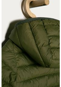 Zielona kurtka OVS casualowa, z kapturem