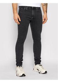Calvin Klein Jeans Jeansy J30J315571 Szary Skinny Fit. Kolor: szary