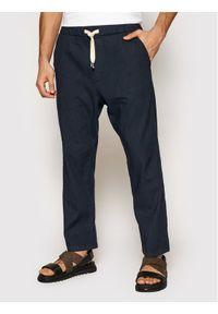 Imperial Spodnie materiałowe PD2UBJWTD Granatowy Regular Fit. Kolor: niebieski. Materiał: materiał