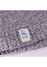 Czapka dziecięca na wiosnę PaMaMi - ciemnoszary. Kolor: szary. Materiał: bawełna, elastan. Sezon: wiosna