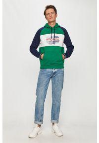 Zielona bluza nierozpinana Pepe Jeans casualowa, na co dzień