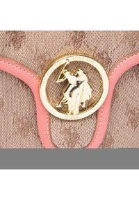 U.S. Polo Assn - Torebka U.S. POLO ASSN. - Lady Lake Handle Flap Bag BEUKG5227WJP406 Peach. Kolor: beżowy. Materiał: skórzane. Styl: klasyczny #3