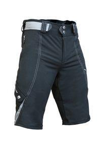 Spodenki rowerowe męskie Berkner Ryan z wkładką. Materiał: materiał. Długość: do kolan