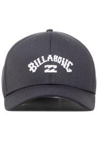 Billabong - Czapka z daszkiem BILLABONG - Arch Snapback U5CM01BIF0 Black 19. Kolor: czarny. Materiał: materiał, bawełna