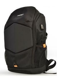 Czarny plecak na laptopa HIRO
