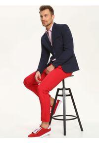 Czerwona koszula TOP SECRET długa, elegancka