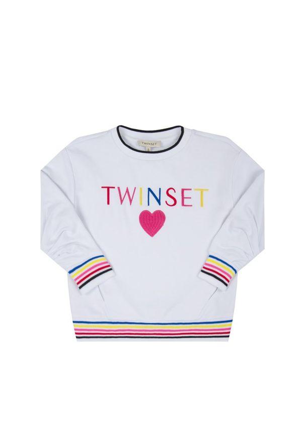 Biała bluza TwinSet