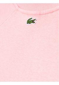 Lacoste Bluza SJ0312 Różowy Regular Fit. Kolor: różowy