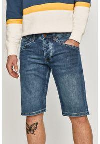 Pepe Jeans - Szorty jeansowe Track. Okazja: na co dzień. Kolor: niebieski. Materiał: denim. Styl: casual