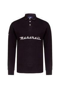 Czarna koszulka polo La Martina polo, sportowa