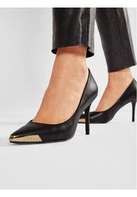 Versace Jeans Couture Szpilki E0VWAS50 Czarny. Kolor: czarny. Obcas: na szpilce
