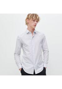 Biała koszula Reserved w grochy